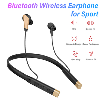 Wired Earphones Stereo Bluetooth Headphone HIFI Sound Music Earbuds Sports Headphones Neckband Wired