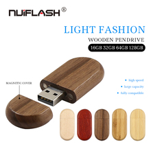 Heißer Verkauf Holz holz U Disk USB 2,0-Stick Lehrer Geschenk 32GB 64 16 8 256 gb Mini memory Stick Pen drive