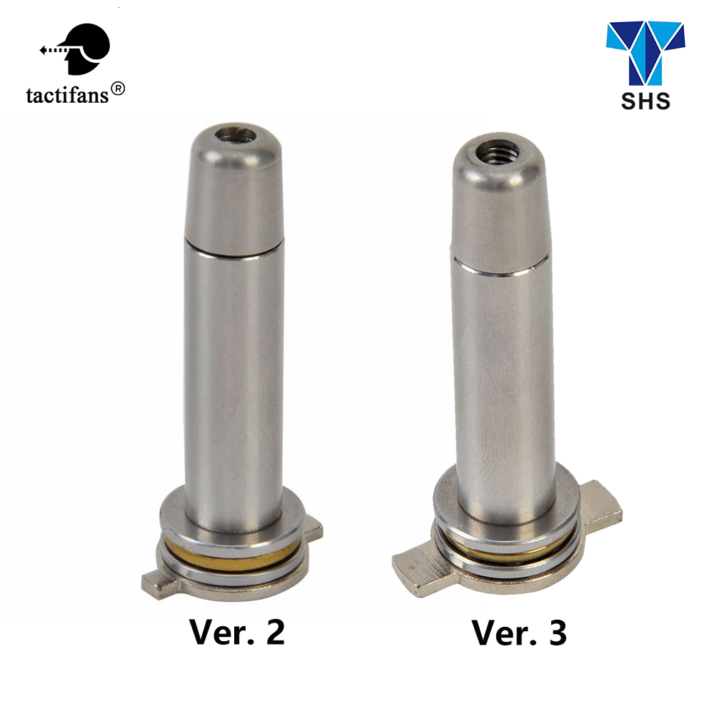 CNC Aluminum Steel Spring Guide Ver2 Ver3 Airsoft AEG Gearbox Ball Bearing Vortex M4 AK G36 Paintball Army Hunting Accessories