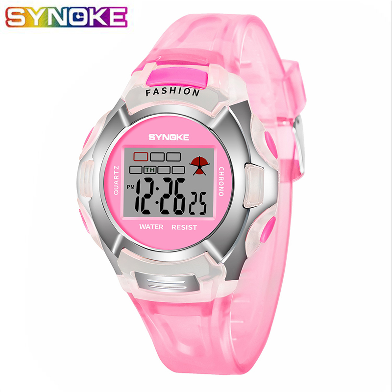 New Waterproof Children Watch Boys Girls LED Digital Sports Watches Plastic Kids Alarm Date Casual Watch Select Gift For Kid