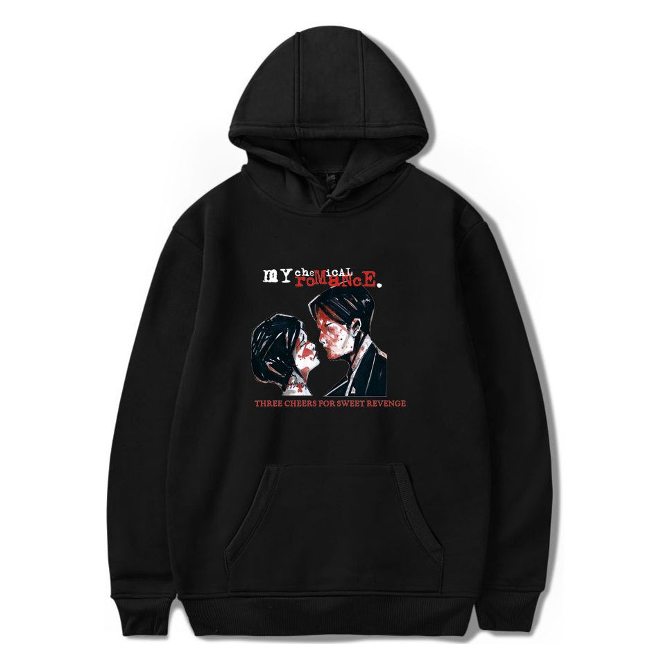 European And American-Style My Chemical Romance MY Chemical Romance Hooded O Neck Crew Neck Hoodie Hooded Winter Men's And Women