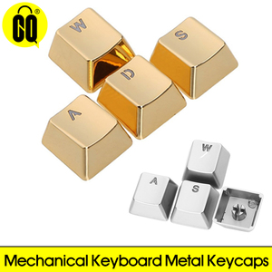 For Mechanical Keyboard MX Axis Metal Keycaps Pervious to light Keypress WASD ARROW Zinc Alloy Key Cap Light Transmission(China)