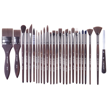 2255 26PC/Set watercolor acrylic and oil multifunctional free style art brush set