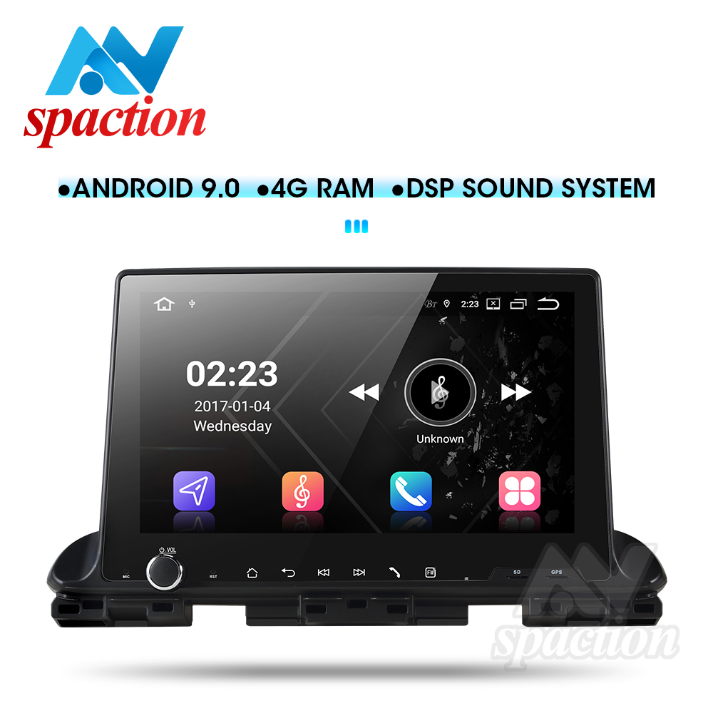 Anspation Android 9.0 dvd player for Kia CERATO 4 Forte K3 2018 2019 with car radio GPS stereo multimedia player navigation image