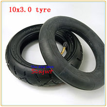 10x3.0 out Tyre inner tube For KUGOO M4 PRO Electric Scooter wheel 10 inch Folding electric scooter wheel tire 10*3.0 tire(China)