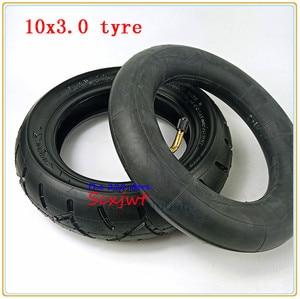 Image 1 - 10x3.0 ra Lốp ống bên trong Cho KUGOO M4 PRO Xe Điện bánh xe 10 inch Gấp xe điện bánh xe lốp xe 10*3.0 lốp xe