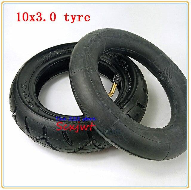 10x3.0 ra Lốp ống bên trong Cho KUGOO M4 PRO Xe Điện bánh xe 10 inch Gấp xe điện bánh xe lốp xe 10*3.0 lốp xe