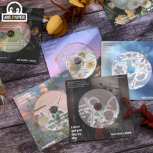 Мистер бумага 6 дизайнов 19 шт% 2Fbag Xianhua Record Series Ins Style Scrapbook Making Creative Hand Account DIY Collage Decor Material