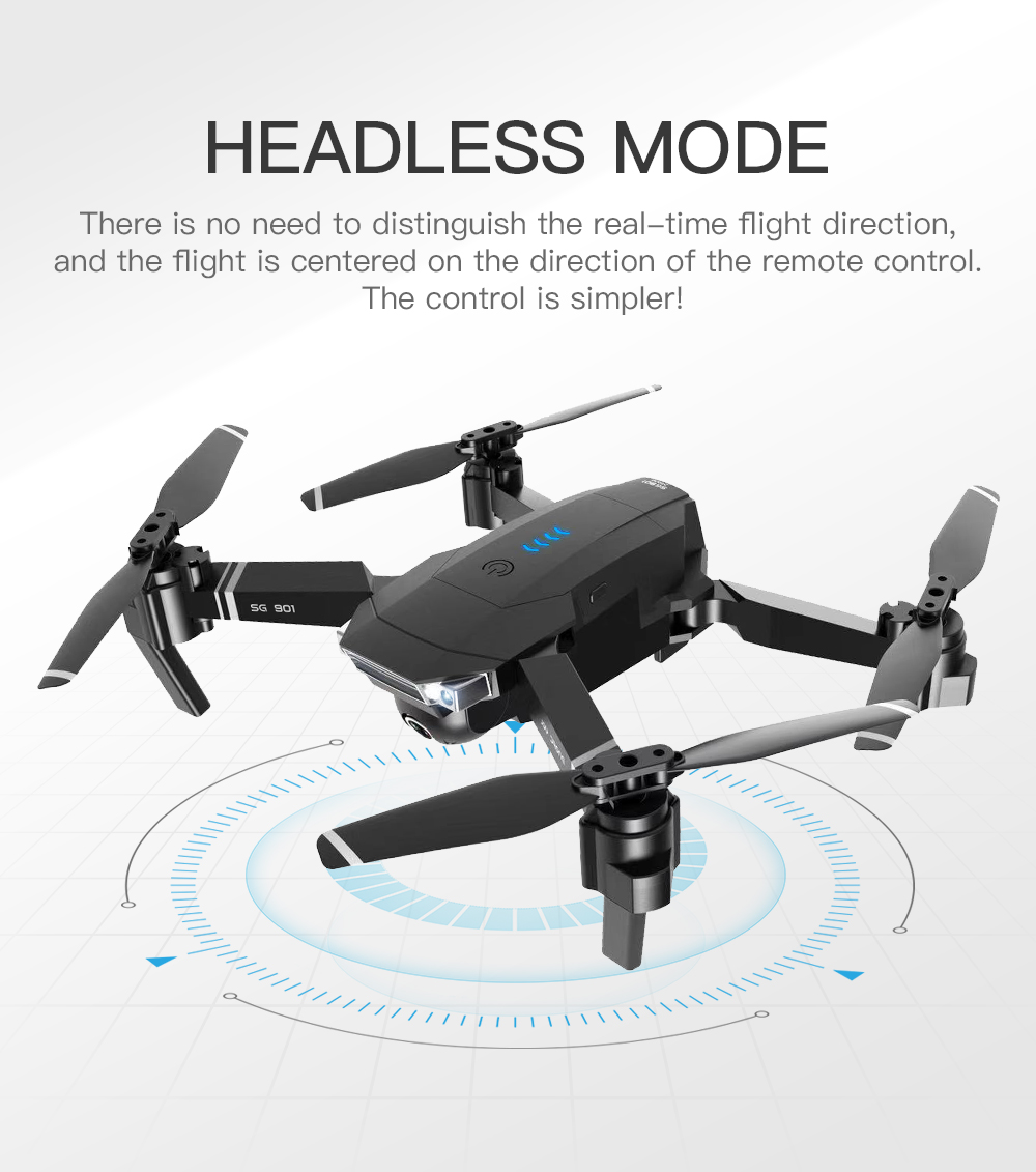 SG901 Drone Headless Flight