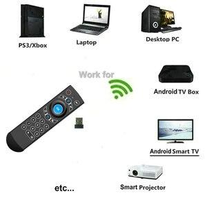 Image 2 - G21 פרו 2.4G קול אוויר עכבר IR למידה גוגל עוזר קול חיפוש עבור אנדרואיד טלוויזיה חכמה תיבת PK G10s g20s G30s שלט רחוק