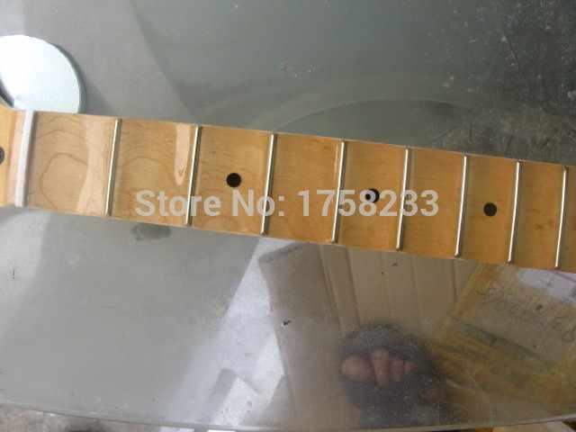 Freies verschiffen neue Scalloped Ahorn Hals gitarre hals für förderung heißer verkauf