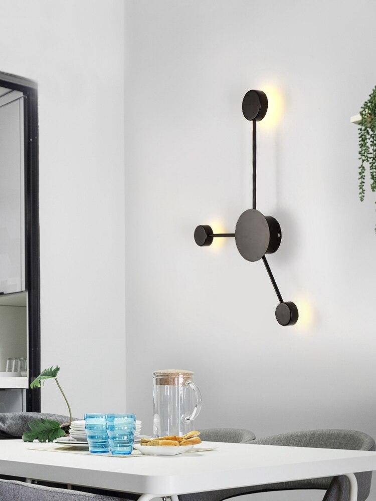 Wall-Lamp Hall Corridor-Lighting Postmodern Bedside Bedroom Living-Room Creative Hotel