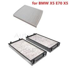 Para bmw x5 e70 cabine filtro de ar e filtro de ar 64119248294 64319194098 cada um