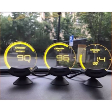 Greddi Sirius Transparent glass gauge Boost Turbo Water Temp Oil Temp Oil Pressure car