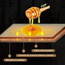 Деревянная приправа Beewax, деревянный воск, твердая древесина для ухода, очистка, полированная Водонепроницаемая износостойкая искусственна...