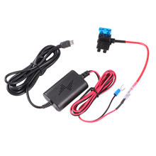 Auto Dash Cam Charger Adapter Harde Draad Kit Mini USB ABS 12v naar 5v Rijden Recorder USB Stap -down Kabel Overbelasting bescherming(China)