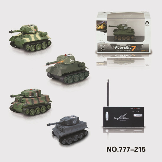 Mini Model Remote Control Tank Wireless Control Children Military Model Toy Car Hot Selling Jg777-215