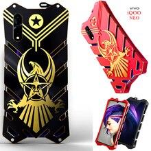 Zimon Luxury New Thor Heavy Duty Armor Metal Aluminum Phone Case For Vivo Iqoo Neo V17 Z5 Y7s S1 Helio P65 Back