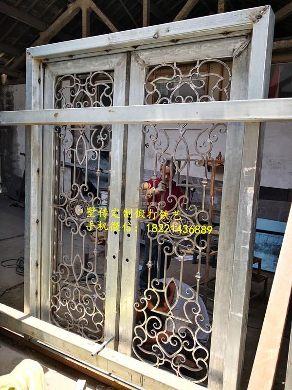Shanghai Hench Brand China Factory 100% Custom Made Sale Australia Wrought Iron Indoor Gates