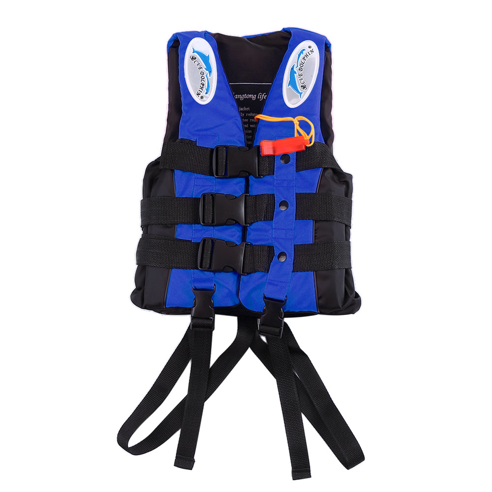 Child Life Vest Aid Jacket Whistle Swimming Life Jacket For Drifting Boating Survival Safety Jacket Water Sport Wear