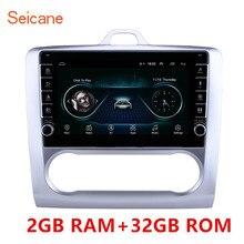 ซีเทอร์ 9 นิ้ว Android 9.1 รถวิทยุบลูทูธระบบนำทาง GPS สำหรับ Ford Focus Exi 2004 2005 2011 สนับสนุน DVR USB WIFI