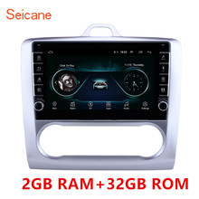 Seicane 9 인치 안 드 로이드 9.1 자동차 블루투스 라디오 gps 네비게이션 시스템 포드 포커스 exi 2004 2005 2011 지원 dvr usb wifi