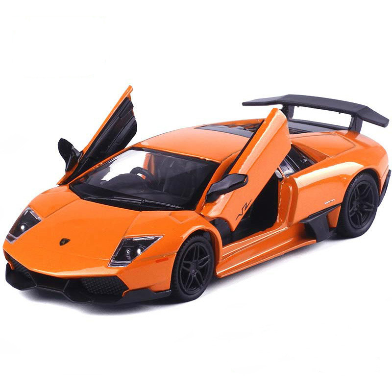 1:32 Sports Car Model For Lamborghinis Alloy Diecasts & Toy Vehicles Super Racing Pull Back Car Kids Birthday Gift