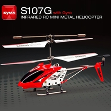 Original SYMA S107 S107G Mini Micro 3.5CH Infrared Remote Co