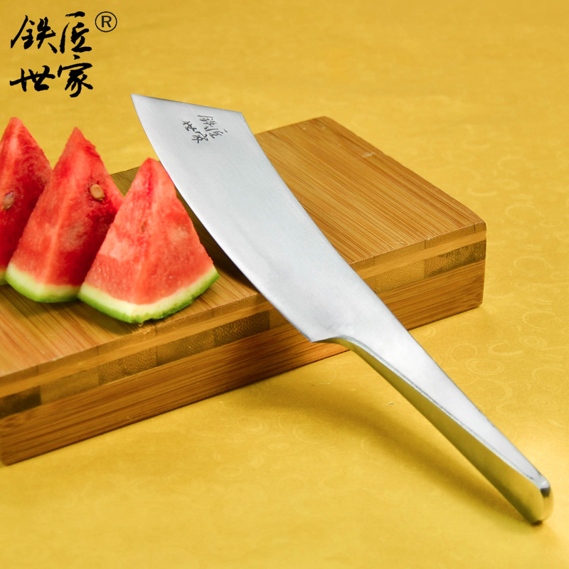 Vegetable knife Chinese handmade forged multi-functional stainless steel Slicing knife Paring fruit knife cuchillos de cocina