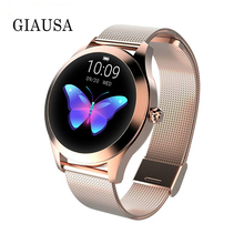 Gift Women Smart Watch IP68 Heart Rate Monitor Message Call Reminder Pedometer Calorie Smartwatch Women watch For Android IOS bluetooth 4 0 call message reminder sports pedometer anti lost heart rate monitor steel strap smartwatch for android ios