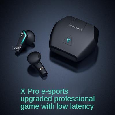Sanag xpro Bluetooth true wireless TWS 2 generation 5.0 game stereo black technology headset wireless headphones