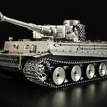 Высокая моделирования металла HengLong 1/8 масштаб Немецкий Тигр I RTR радиоуправляемая модель танка 3818