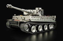 New High Simulation 100% Metal HengLong 1/8 Scale German Tiger I RTR RC Tank Model 3818 цена