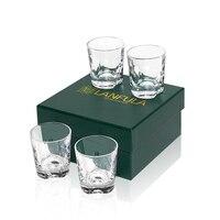 Bicchiere da whisky Rock 8 Oz per Cocktail vecchio stile Scotch Bourbon Set di 4, bicchiere da Bar in cristallo bicchiere da bicchiere