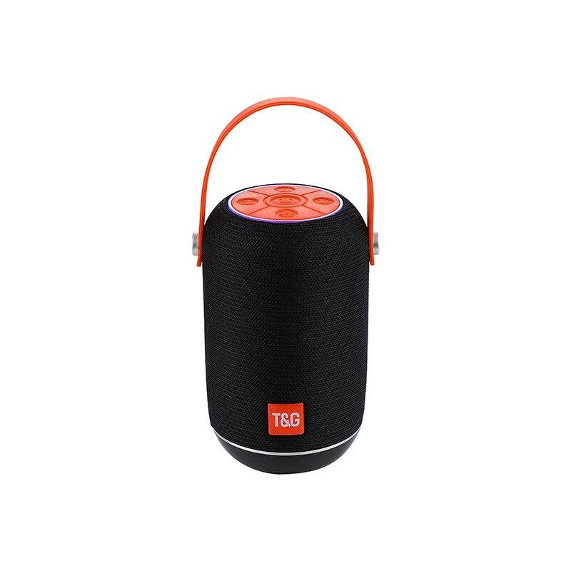 Купить беспроводной bluetooth динамик aux баррель типа колонки звуковой