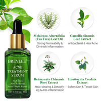 BREYLEE Acne Treatment Face Serum Anti Acne Pimple Scar Remover Moisturizing Oil-Control Whitening Shrinking Pores Essence 4