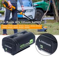 40V 6000mAh Lithium Ion Battery OP4050A Replacement Professional Battery For 40 Volt Ryobi Cordless Power Tools