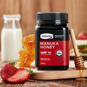 Image 2 - Original NewZealand Comvita Manuka Honey UMF5+500g for Digestive Immune Health Respiratory System Cough Sooth Coughs Sore Throat