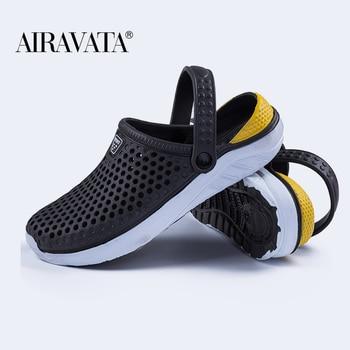 Unisex Fashion Beach Sandals Thick Sole Slipper Waterproof Anti-Slip Sandals Flip Flops for Women Men 2