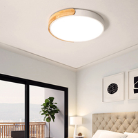 Luces de techo LED ultradelgadas para habitación, luz blanca fría y cálida Natural, lámparas de techo para iluminación de sala de estar