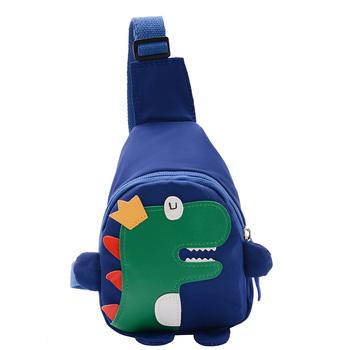 Plecak dla dzieci śliczny wzór dinozaur torby szkolne dla dzieci koreański styl wodoodporne torby szkolne dla dzieci Cartoon tanie i dobre opinie CN (pochodzenie) 25-36m 4-6y Cotton Fabric 18cm Dla dzieci plecak dla dzieci zipper Torba listonoszka 20cm polyeater Stałe