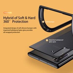 Image 5 - Voor Samsung Galaxy Note 10 Plus Case Rock Ultra Dunne Slim Clear Pc + Tpu Siliconen Hybride Telefoon Gevallen Matte pc Case