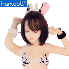 Hanidoll Silicone Sex Dolls 125cm Love Doll TPE Metal Skeleton Full Sized Realistic Oral Anal Vagina Breast Masturbator doll