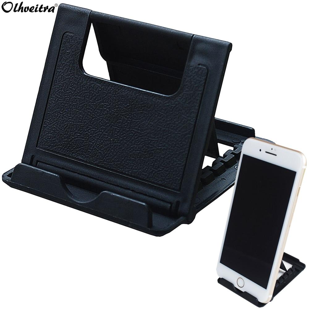 Мобильный настольный держатель Olhveitra для сотового телефона iPhone 11 Pro X 7 8 Plus XR XS Max Sansung Note 10, подставка для телефона на стол