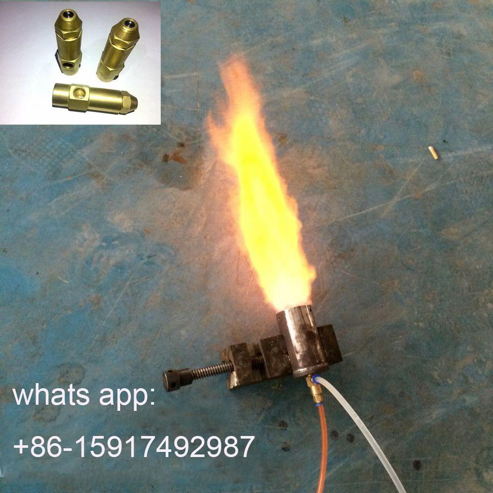 Acessórios de combustível de bronze  bocal do queimador de óleo waste  bocal de pulverizador baseado em álcool do queimador de combustível do óleo waste diesel pesado|Pulverizadores| |  - title=