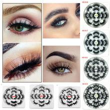 Get more info on the 7 Pairs 3D Mink Eyelashes Extension Natural Long 25mm False Lashes Fluffy Handmade Mink Fake Eye Lash Makeup Tools Maquiagem