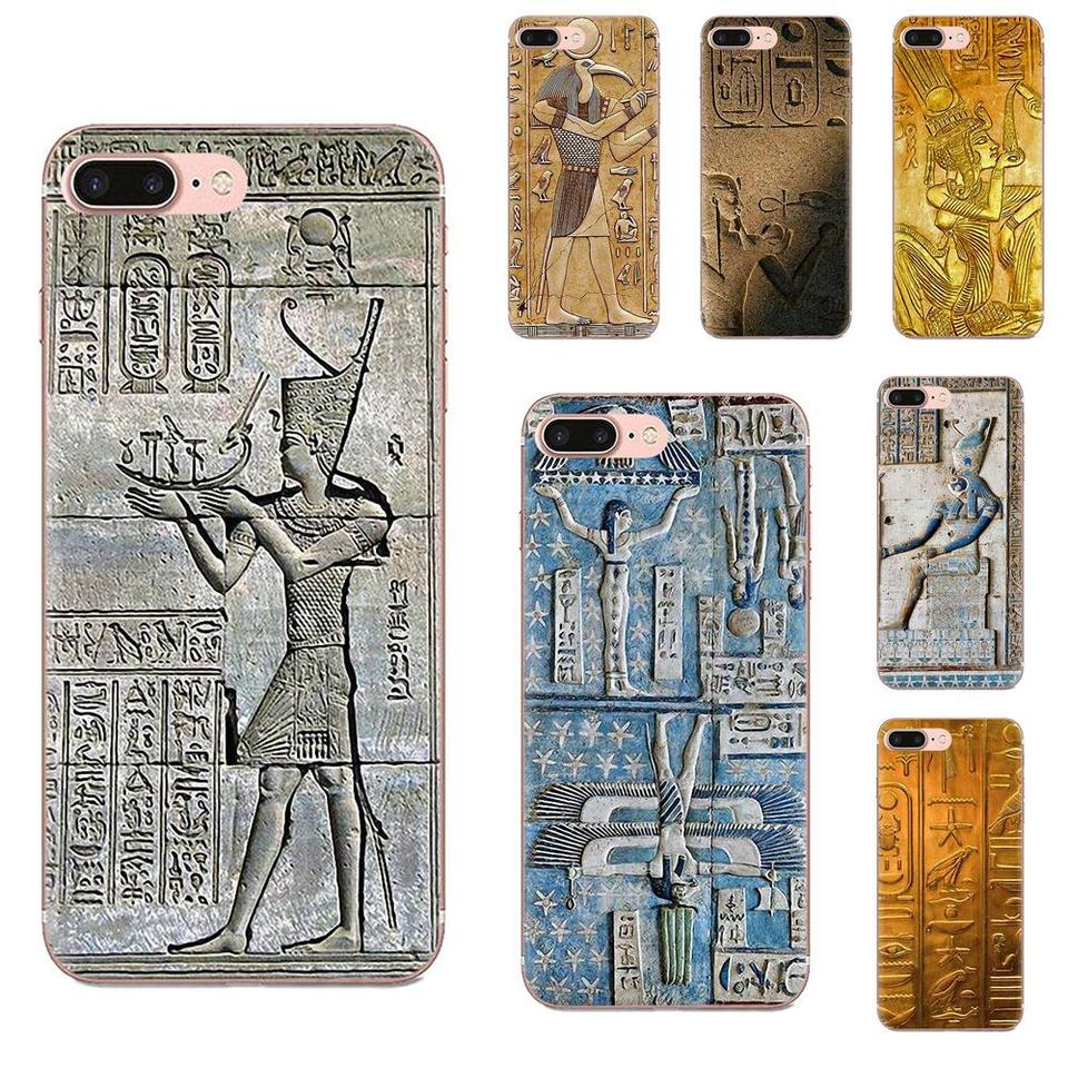 Fashion Skin Thin Case Ancient Hieroglyphs Egypt Coque Shell For Apple iPhone 4 4S 5 5C 960x960