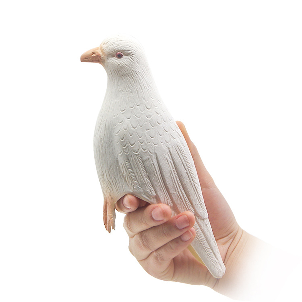 Vanishing Dove Latex Fake Rubber Dove Magic Tricks Appearing Vanishing Magia Stage Close-Up Illusions Props Accessories Toys image