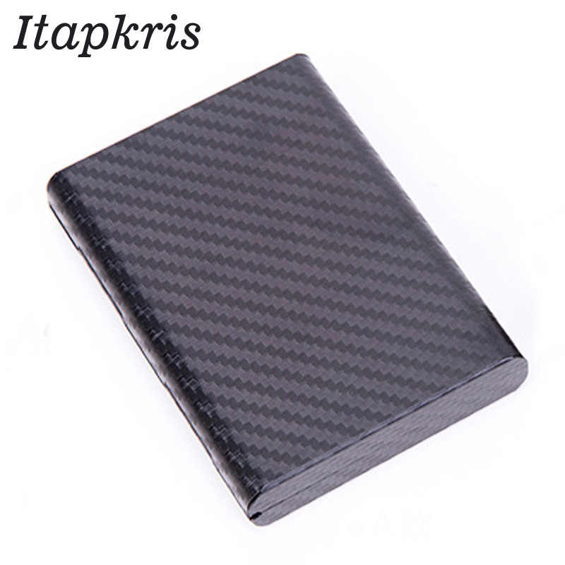 Itapkris Man Credit Card Holder High Quality Business Card Case Women Fashion Aluminum Rfid Wallet Travel Card Holder Organizer