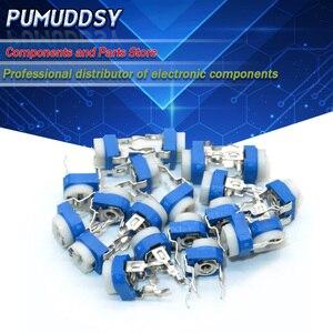 20 sztuk RM065 RM-065 100 200 500 1K 2K 5K 10K 20K 50K 100K 200K 500K 1M ohm Trimpot trymer potencjometr zmienny rezystor